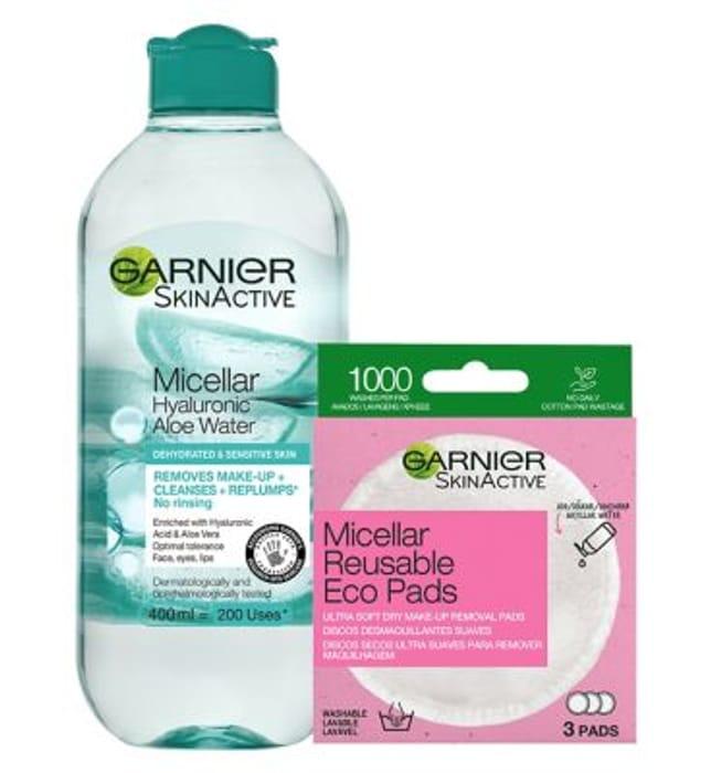 Garnier Aloe & Hyaluronic Acid Cleansing Bundle