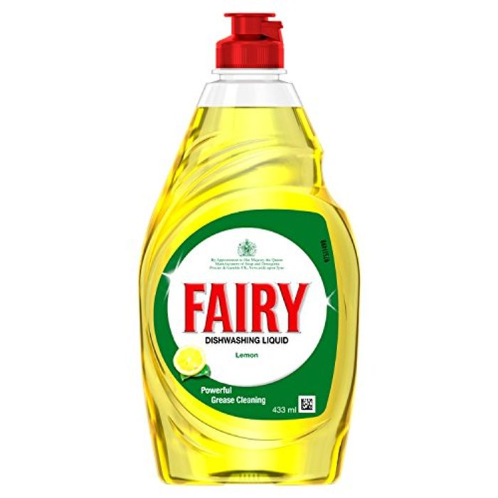 Fairy Lemon Washin up Liquid, 433ml