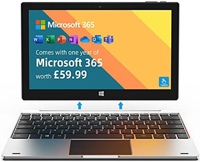 """Jumper Laptop Microsoft 365 and 1TB Cloud Storage 11.6"""" FHD - Only £152.99!"""