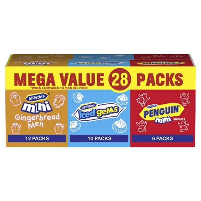 McVitie's Minis Mixed Bulk Box Biscuits 572 G