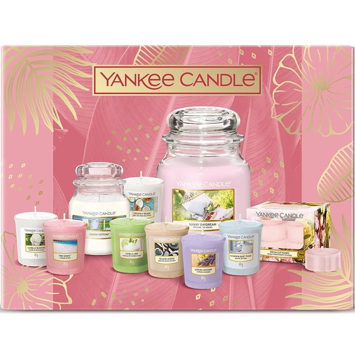 YANKEE CANDLE Spring/Summer 2021 Wow Gift Set (Free Delivery)