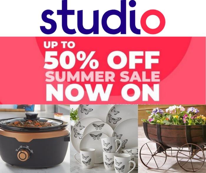 Studio Up To 50% Off Massive Summer Sale