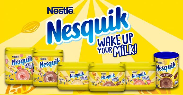 Insider New Campaign: Try Nesquik Milkshakes for Free