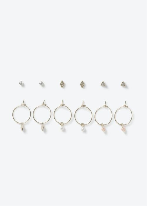 6 Pack Earrings
