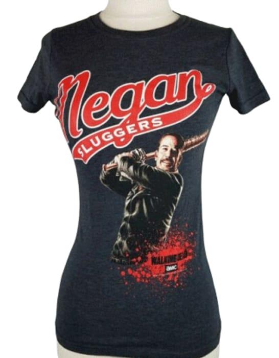 Walking Dead Negan 'Slugger' Fitted T-Shirt