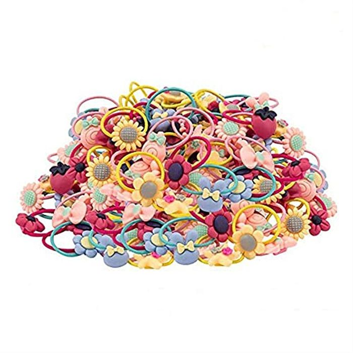 Hair Ties for Girls*40PCS, ZoneYan Little Girls' Small Hair Ropes - Only £3.49!