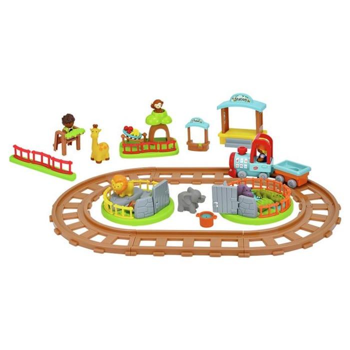 Chad Valley Tots Town Safari Train Playset