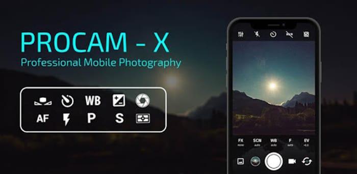 ProCam X ( HD Camera Pro )