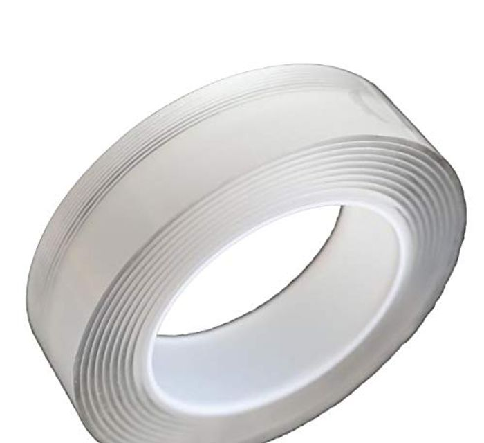 Speedrid Double Layer Washable Removable Adhesive Tape - Only £2.00!