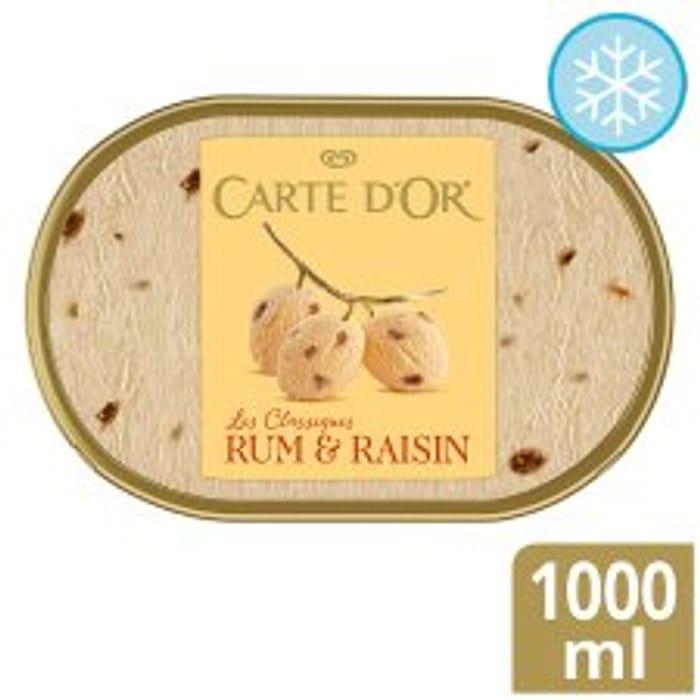 Half Price Carte Dor Ice Cream - Varieties as Stocked