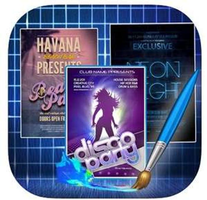 Flyer & Invitation Creator 4+ Create Flyers, Poster, Ads, . Temp Free