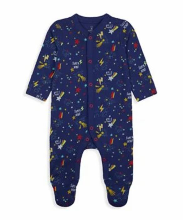 Navy Space Organic Cotton All in One