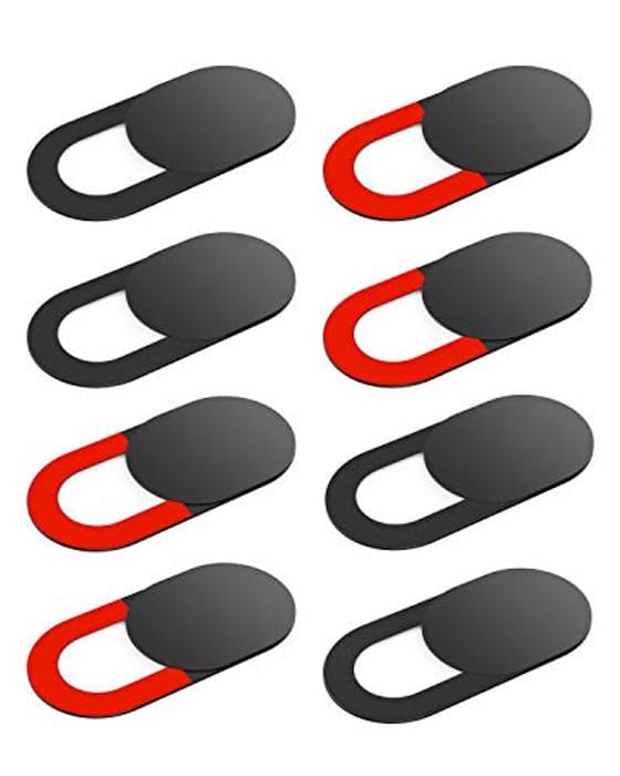 8 Pack Webcam Cover Slides