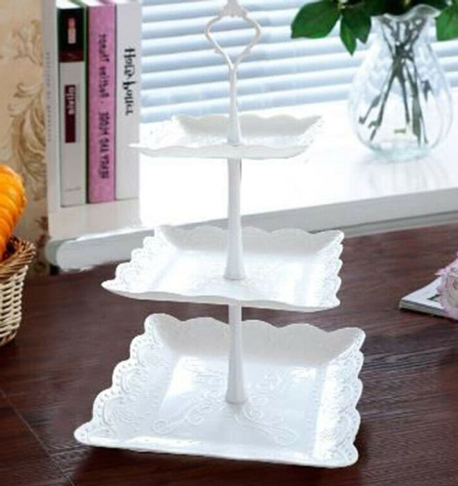 3 Tier Cake Stand - Round or Square