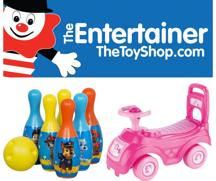 The Entertainer Up To 50% Off Selected Outdoor Toys
