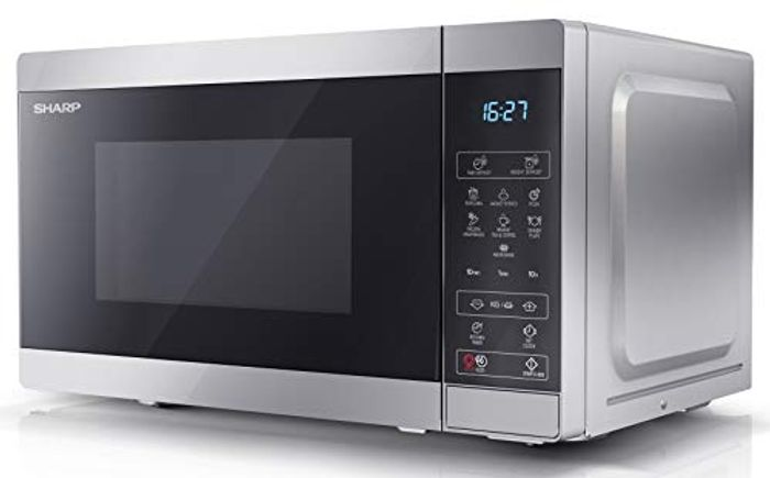 Sharp 800 W Digital Solo Microwave Oven with 20 Litre