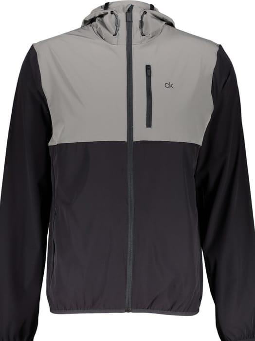CALVIN KLEIN Grey & Black Outdoor Jacket