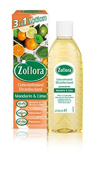 Zoflora Mandarin and Lime Concentrated Disinfectant All Purpose Cleaner