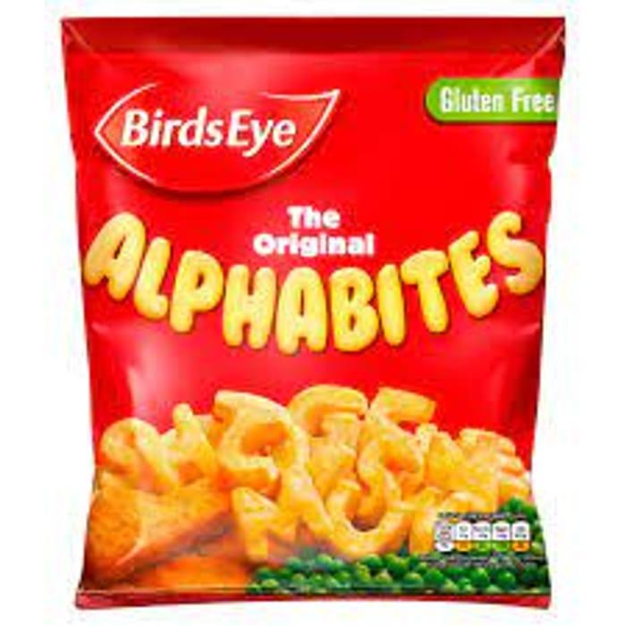 Birds Eye Original Potato Alphabites 456g