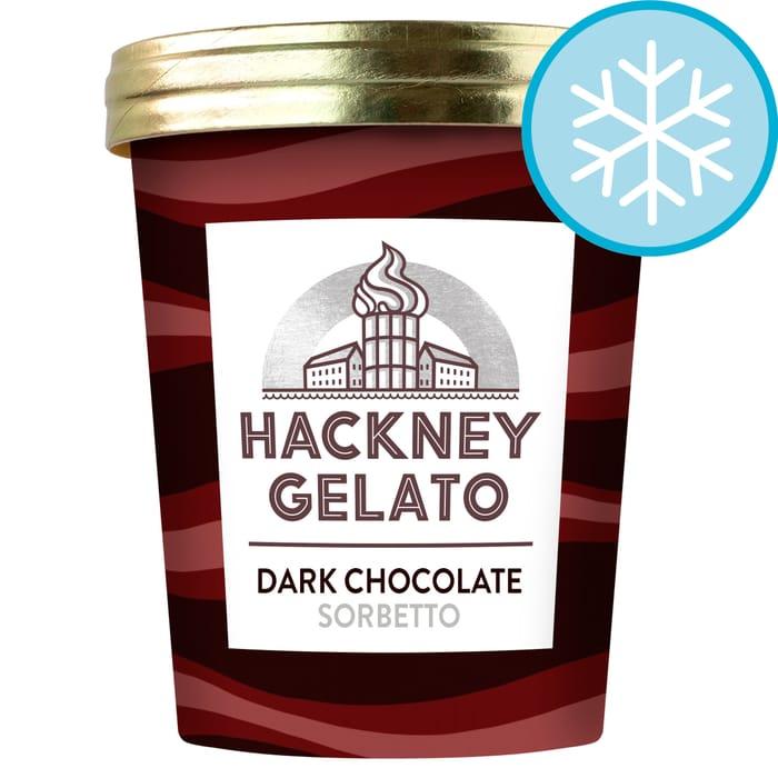 Hackney Gelato Dark Chocolate Sorbetto 500Ml £4 Clubcard Price