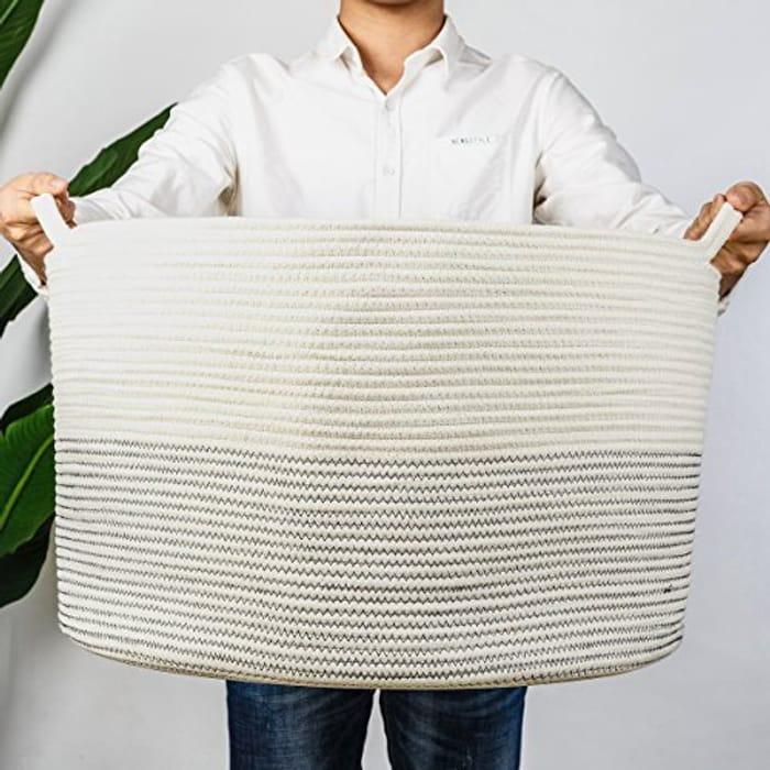 XXXLarge Cotton Rope Basket