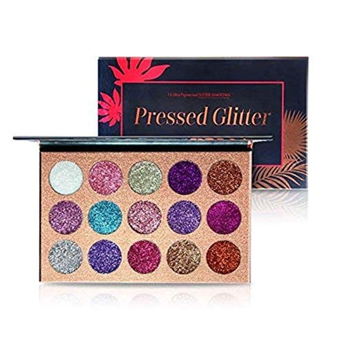 Beauty Glazed 15 Colors Glitter Eyeshadow Palettes