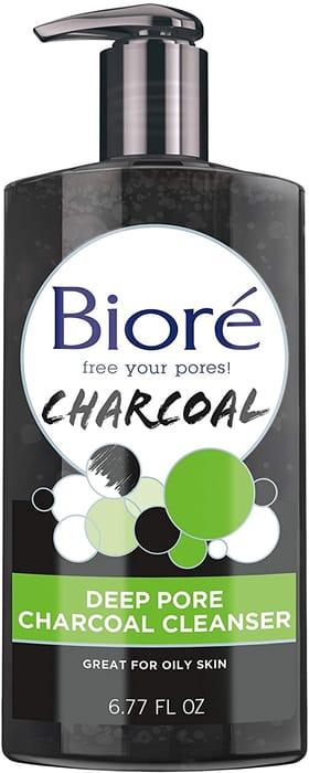 Biore Deep Pore Charcoal Cleanser Face Wash 200ml