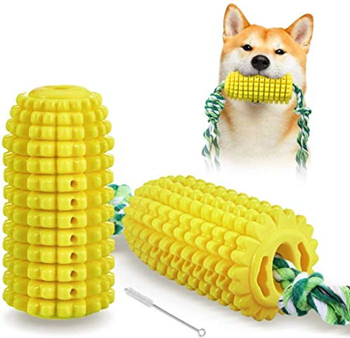 DEAL STACK - Focuspet Indestructible Dental Care Dog Chew Toys + 20% Coupon