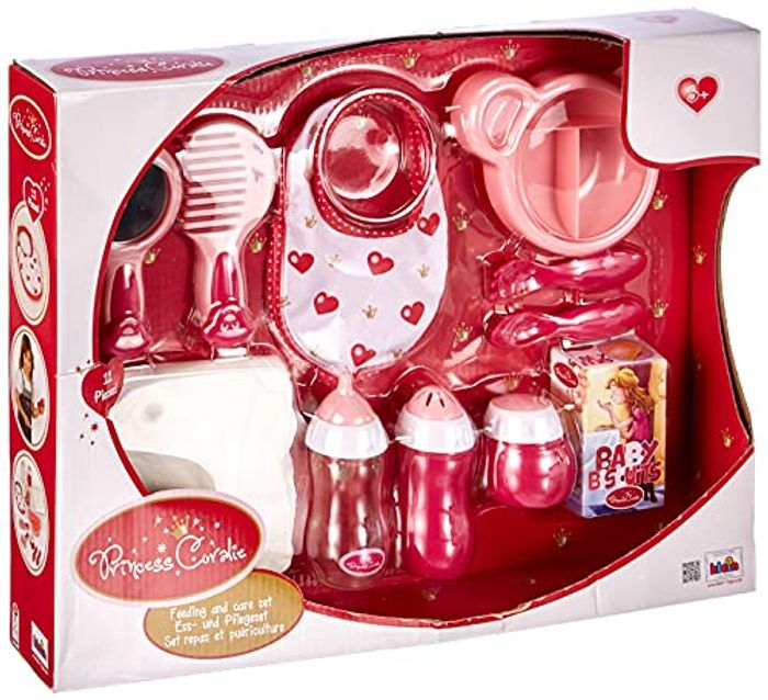 Theo Klein 1732 Princess Coralie Feed and Care Set - Now £5.21!
