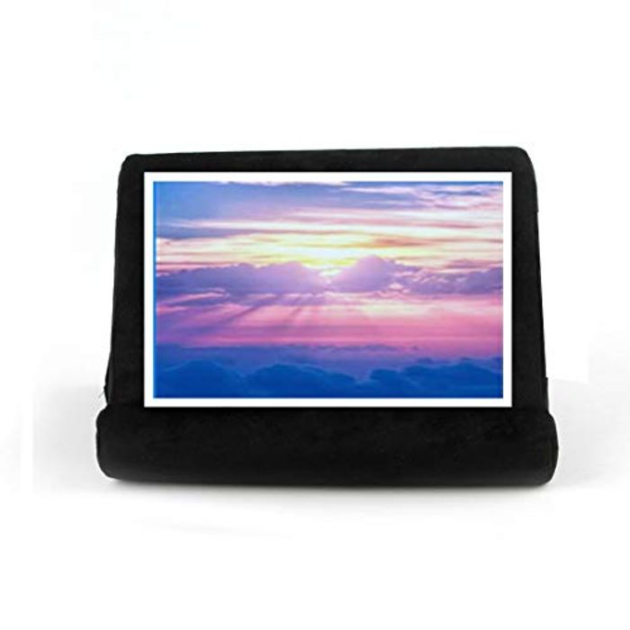 AYES Durable Flat Bracket Multi-Angle Pillow Lap Tablet Stand - Only £3.00!