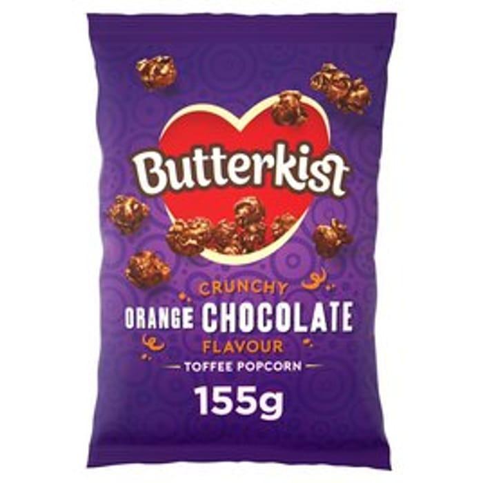 *NEW* Butterkist Crunchy Chocolate Orange Popcorn155g