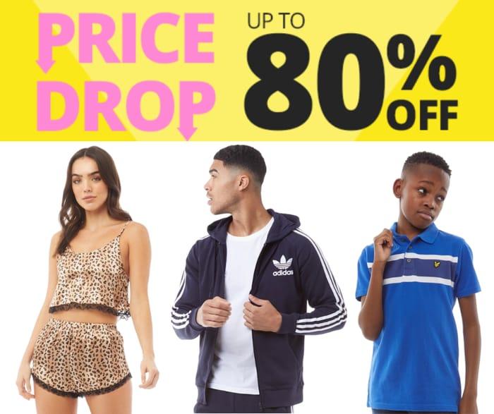 MandM Direct Up To 80% Off 3000+ Lines - Inc. FCUK, adidas & Converse
