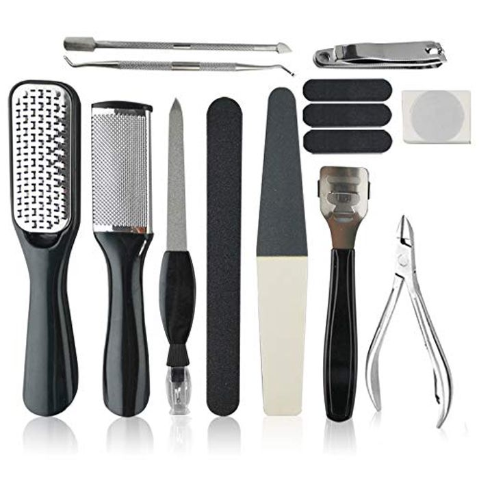 15pcs Stainless Steel Foot File Set