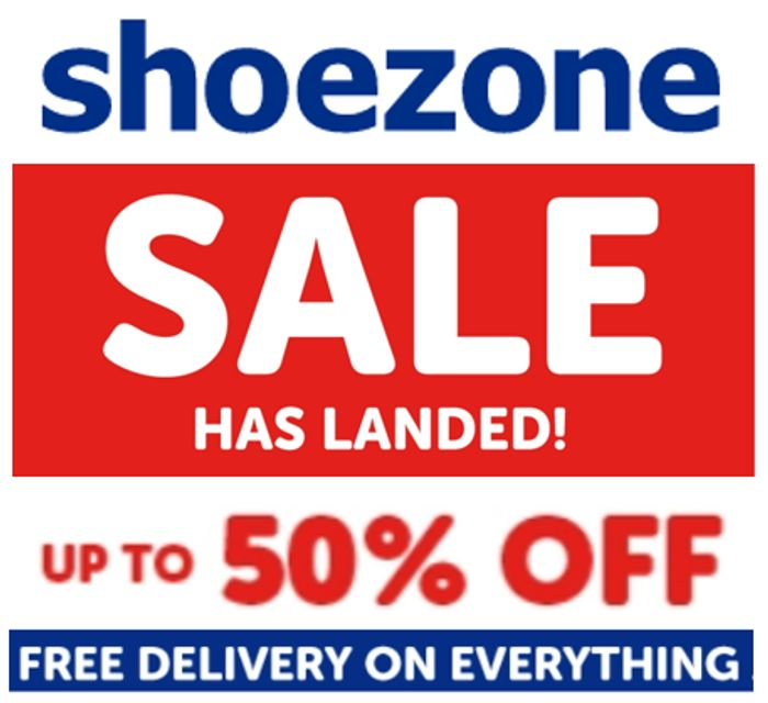 CHEAP! SHOE ZONE Summer Sale - up to 50% OFF + FREE DELIVERY on EVERYTHING!