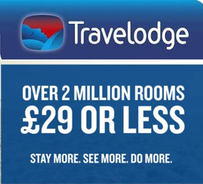 Travelodge - £29 or Less