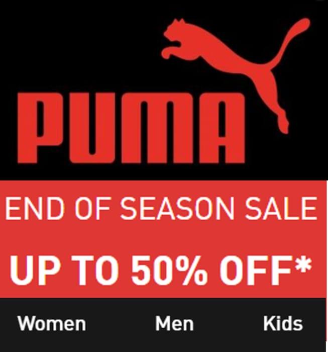 PUMA SALE - up to 50% OFF - Women's Men's & Kids