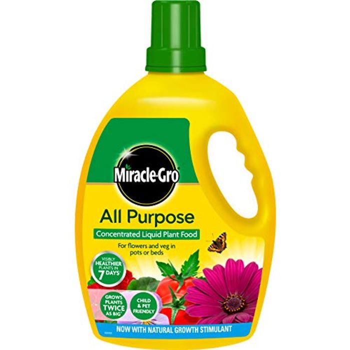 Miracle-Gro All Purpose Concentrate Liquid Plant Food 2.5 Litre