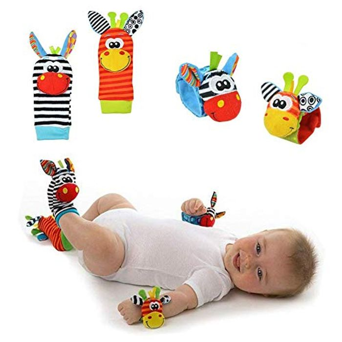 Baby Wrist Rattle for Newborn Baby Boy Girl Toddlers