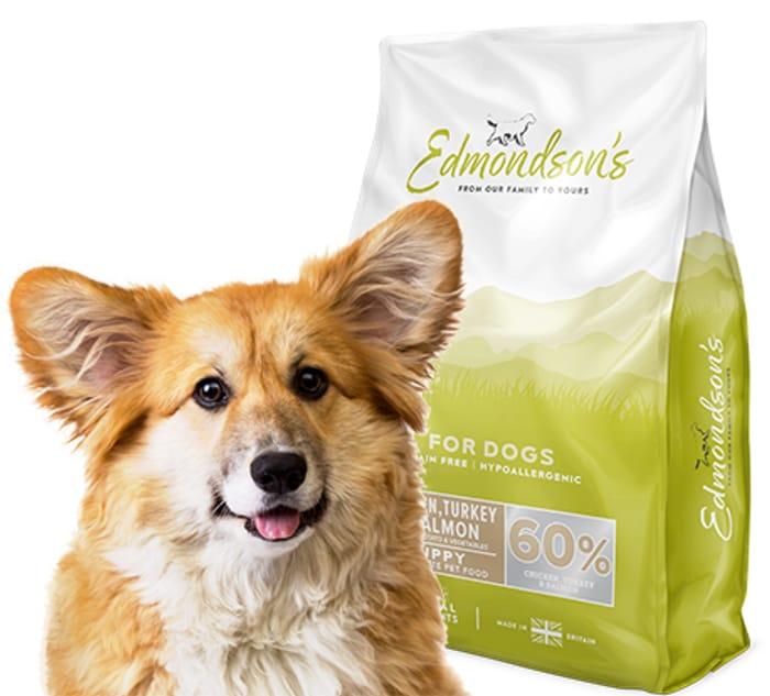 Free Edmondsons Dog Food (2kg Bag)
