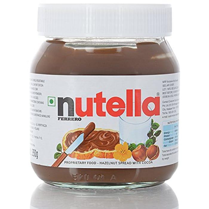 Nutella Hazelnut Chocolate Spread, 350 G