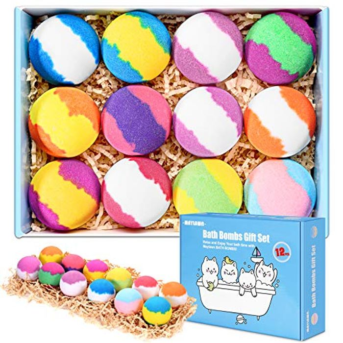 Box of 12 Bathbombs 5.95 with Voucher