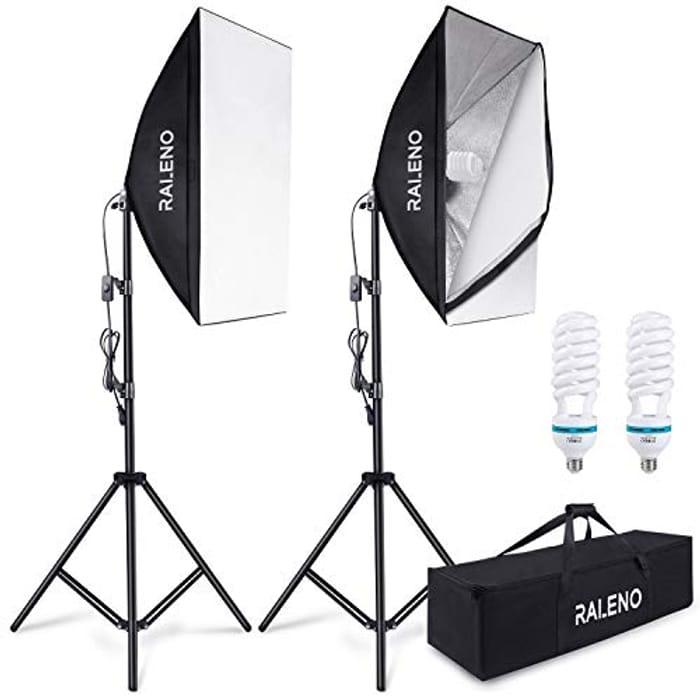 800W Professional Photography Softbox Lighting Kit