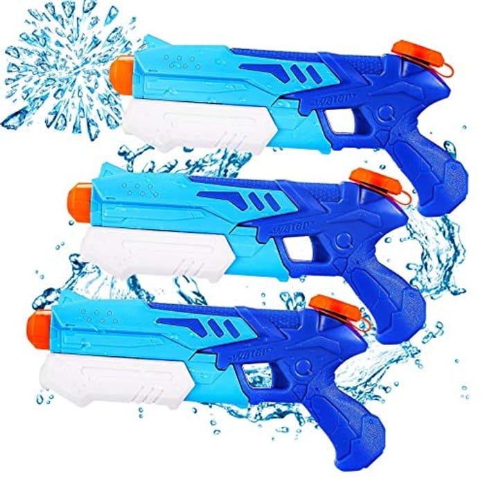 300ML Big Childrens Water Gun with 9 Meters Range - Only £6.90!