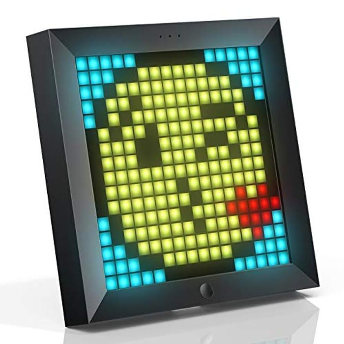 DEAL STACK - Divoom Pixoo Pixel Art Digital Photo Frame + 20% Coupon