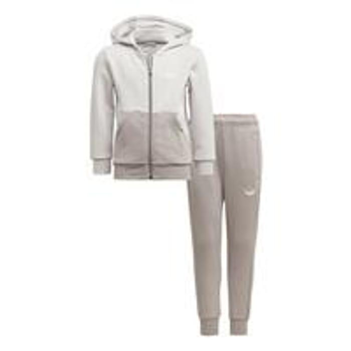 Adidas Originals Unisex Younger Full Zip Hoodie & Joggers Set