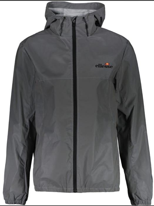 ELLESSE Grey Reflective Hooded Jacket