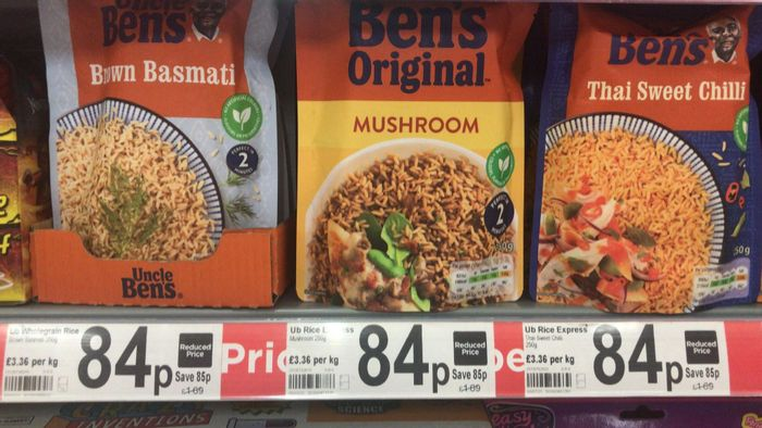 Uncle Ben's Rice - Mixed Flavours