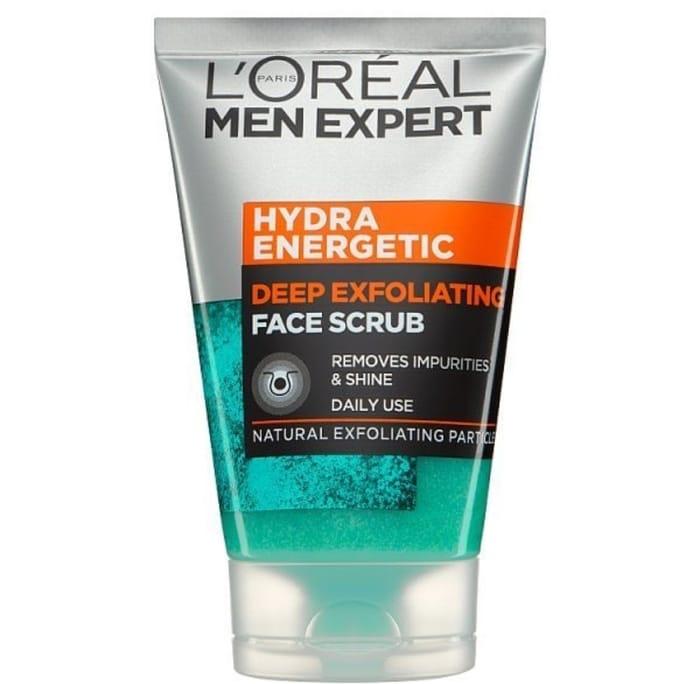 1/2 PRICE - L'Oreal Men Expert Face Scrub 100ml