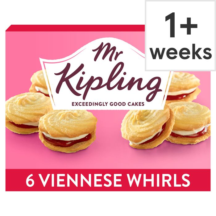 Mr Kipling Viennese Whirls 6 Pack Club Card Price