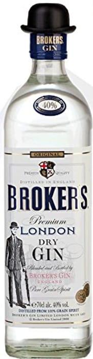 Broker's London Dry Gin - 700ml ABV 40% - £14.95 / £13.46 S&S